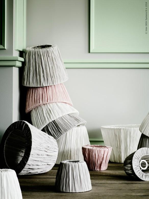 romantisk lampskärm